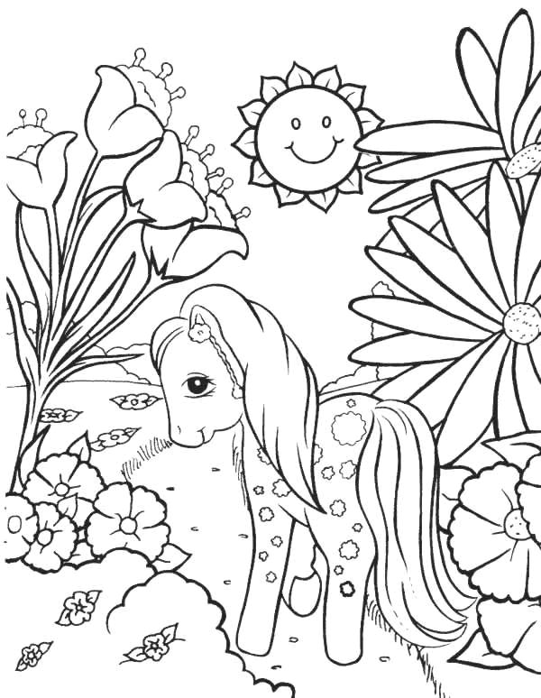 flowers 999 coloring pages