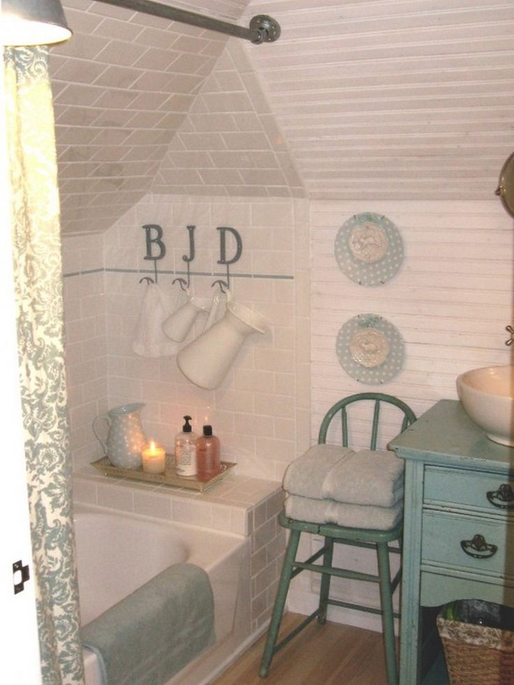 17 best ideas about small attic bathroom on pinterest for Bathroom ceiling ideas