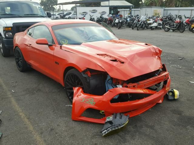 Salvage 2015 Ford Mustang Gt