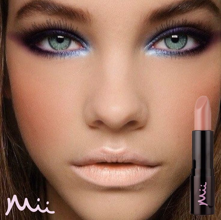 Make your eyes pop with nude lips - try Debut Passionate Lip Lover by Mii and your favourite eye colour to achieve this look.