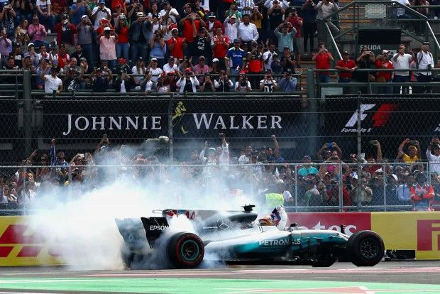 Lewis Hamilton wins fourth F1 title at Mexico Grand Prix 2017
