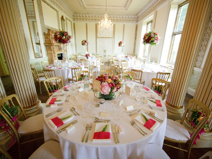 Ready For The Wedding Breakfast Hampden HouseHigh WycombeWedding BreakfastWedding VenuesWedding