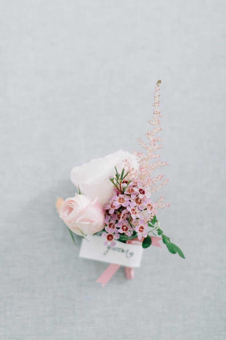 Cathy & Nathan | Wedding Boutonniere | Grooms Boutonniere | Floral Grooms Boutonniere | Grooms Buttonhole | Wedding Buttonhole