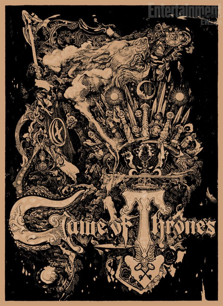 Game of Thrones Comic-Con 2012 exclusive poster