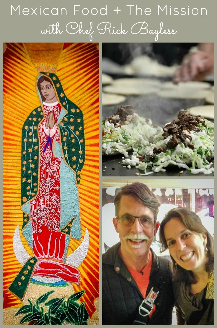 "A foodie tour of San Francisco's Mission District with Chef Rick Bayless, from ""Mexico One Plate at a Time"": http://www.everintransit.com/rick-bayless-sf/"