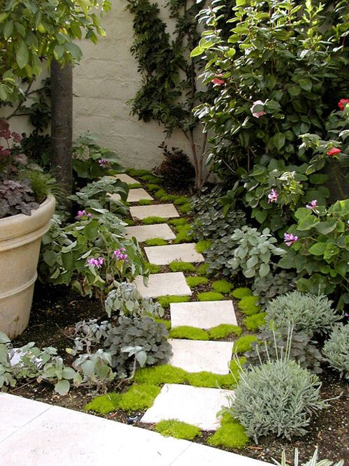 Garden Ideas On Pinterest pallet raised garden bed more Imagine A Treat For Your Eyes At The End Of This Pathway Small Garden Pathway