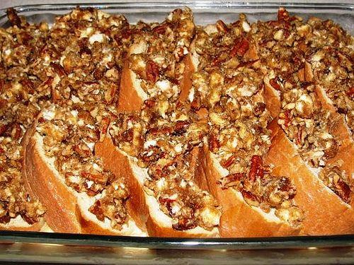 Paula Deen's praline french toast casserole - make the night before - super simple & yum! Christmas morning breakfast!