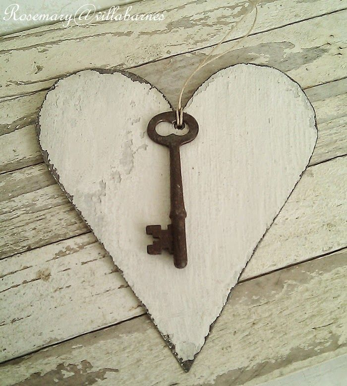very few were allowed to have the key to my heart. villabarnes: Chippy Hearts and Chilling Temps