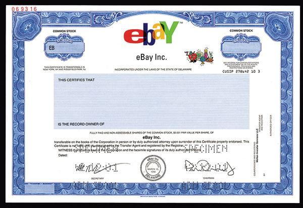 The Trade Archive Stock Certificates Stocks And Shares Things