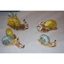 Chloe's Garden 4 Assorted Snails