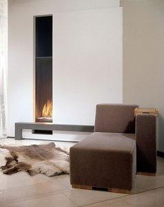 vertical gas fireplace