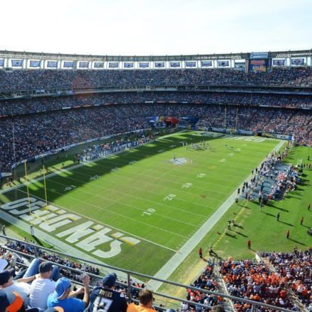 Qualcomm Stadium - Arenas & Stadiums - Love the environment of the best place to enjoy a game with your family and friends at Qualcomm Stadium