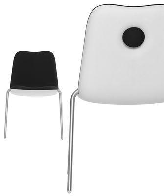 Sedia Boum, Nero di Kristalia, Made In Design Italia