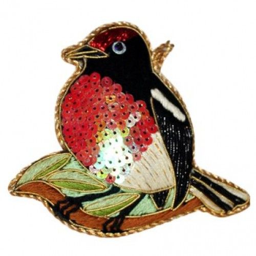 Robin Red Breast Collectible Decoration by Caroline Mitchell
