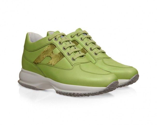 Sneakers Hogan Interactive collezione primavera estate 2015 prezzo 320 euro
