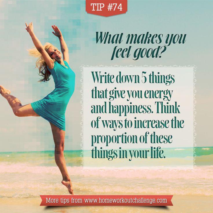 What makes you feel good? #lifebalance #stressfree