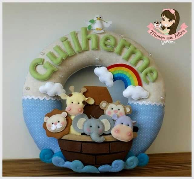 Guirlanda Arca de Noé