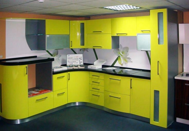 желтые кухни дизайн - Пошук Google