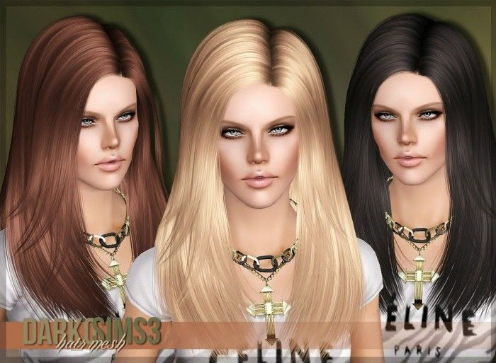 3K Followers Gift AF Hair 02 for females by Darko ...