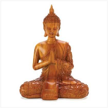 Thai Seated Buddha Figurine | $29.95 | Lexi's Kreationz, LLC | http://lexiskreationz.storenvy.com/products/890589-thai-seated-buddha-figurine