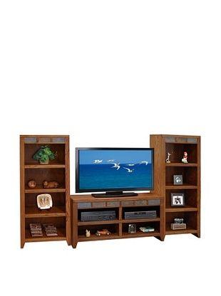 55% OFF Legends Furniture Oak Creek Bookcase Pier, Golden Oak