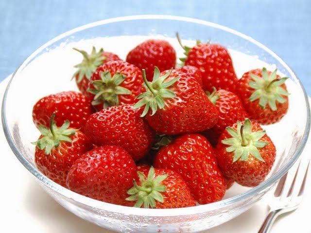 #strawberry #healthy #food #yogurt