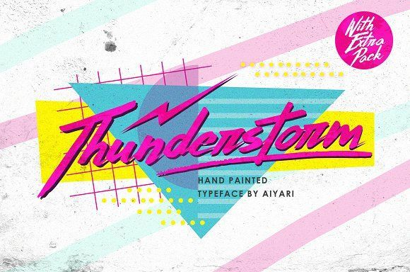 Thunderstorm (With Extra Pack) by Aiyari on @creativemarket