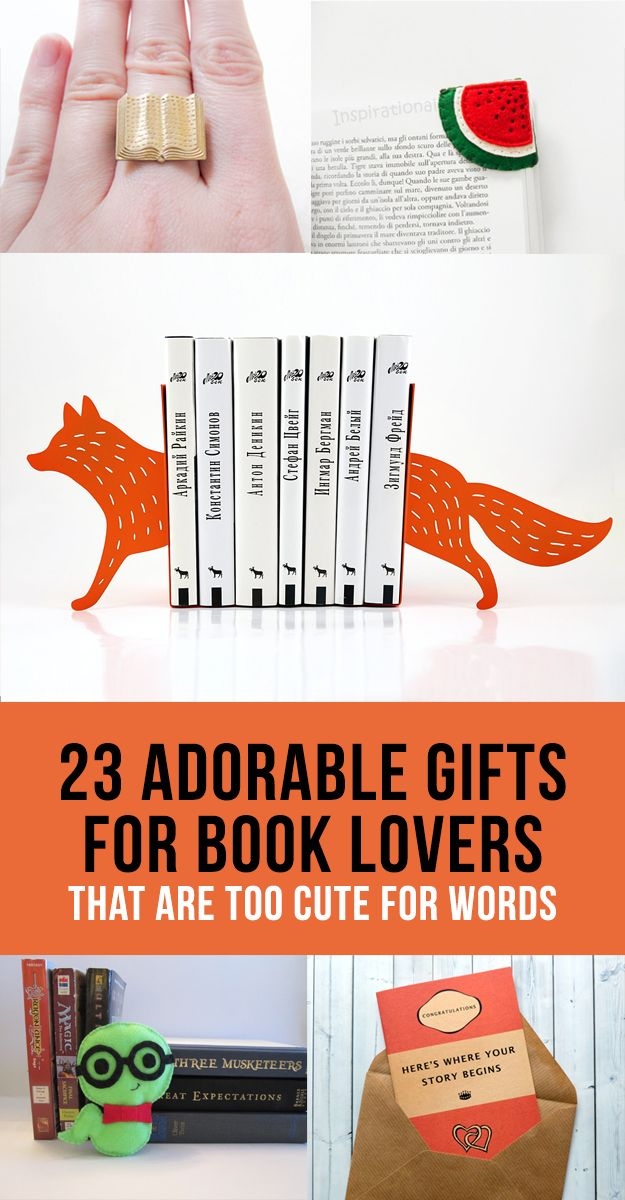 25 Best Ideas About Book Gifts On Pinterest Book Lovers