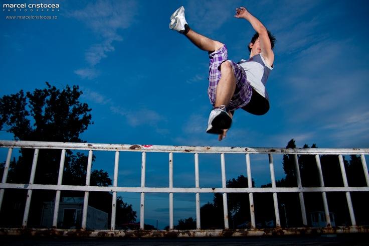 Provocarea de a fotografia Parkour | Marcel Cristocea Photography