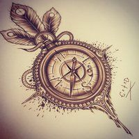 Probably one of the pretty compasses I've seen