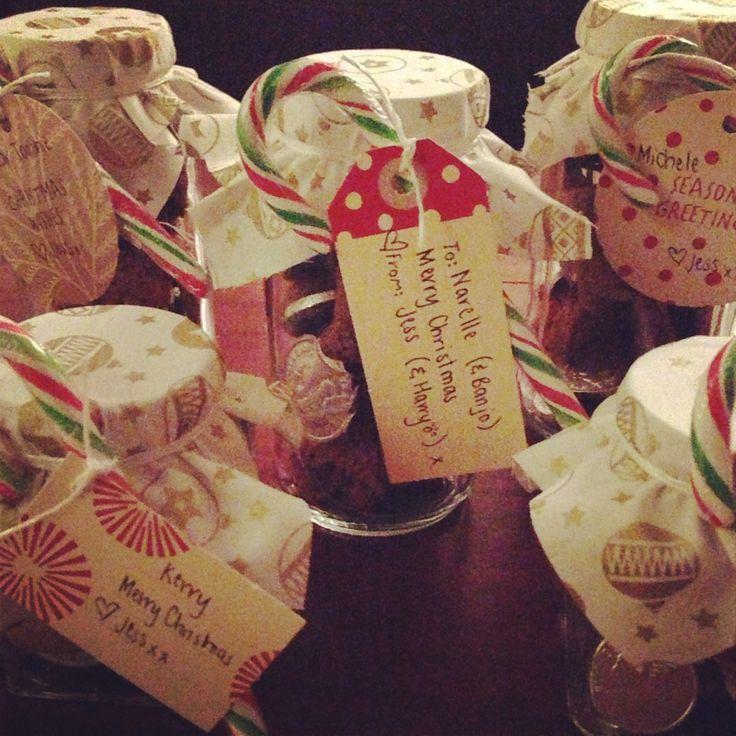 Pretty Christmas treats @Jessica Palmer