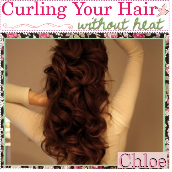 curling your hair without heat