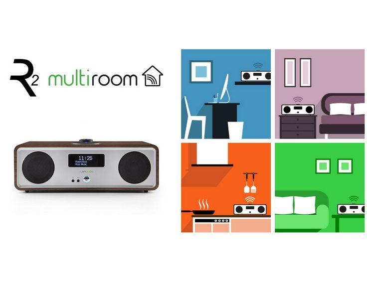 Du #multiroom audiophile grâce à Ruark Audio ! Comme présenté au salon Ssound & Vision à Bristol cette année, la R2 est maintenant multiroom ! Écoutez vos musiques simultanément depuis votre salon, cuisine ou votre chambre ! Rendez-vous sur www.ruarkaudio.fr pour plus d'informations sur la mise à jour du Firmware et la création d'un groupe de R2!