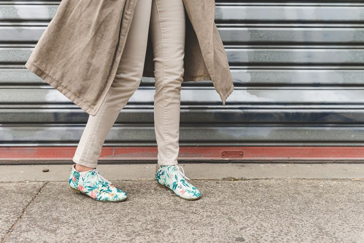 Radical Yes! Move & Be Moved, Mint Tropical print bootie. Photo Breeana Dunbar