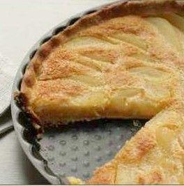 Pear Tart Recipe  Easy French Fruit Dessert.