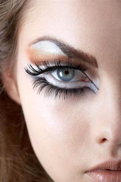 Eye makeup on the Dior catwalk - Catwalk makeup and beauty trends decoded - wewomen