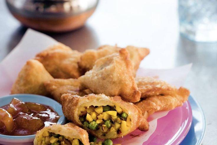 Kijk wat een lekker recept ik heb gevonden op Allerhande! Indiase samosa