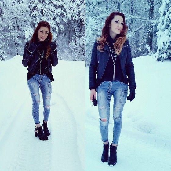 More looks by Viktoria Bivol: http://lb.nu/bivolvika  #casual #street