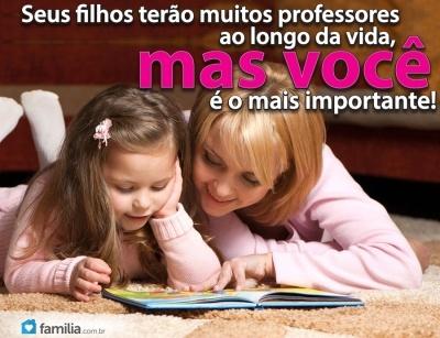 Familia.com.br   #Pais e #Maes: os #Principais #Professores. #parentalidade #amor