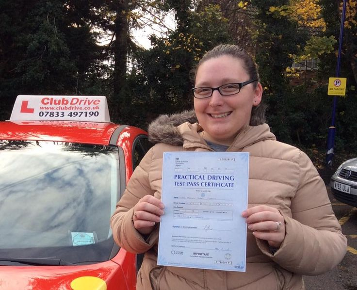 A massive well done to Ashley who has passed her driving test this morning with a fantastic drive at Slough Test Centre, picking up only two driver faults! #drivingtestpass www.clubdrive.co.uk