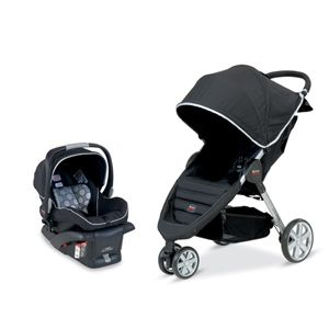 Britax B-Agile & B-Safe Travel System - Black | Baby Furniture | Car Seats | Strollers | Kids Furniture | TreasureRooms.com