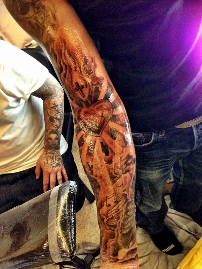 Tatuaje Lewis Hamilton