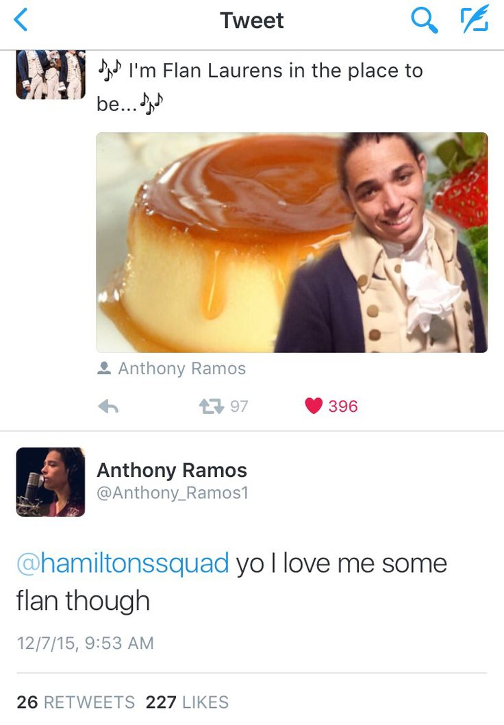 Haha Hamilton Squad and Anthony Ramos
