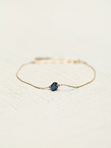 Marida Jewelry Crystal Itty Bitty Bracelet at Free People Clothing Boutique