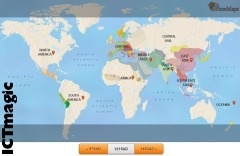 This is a wonderful history site. Watch the history of the world evolve on a world map by choosing an era and clicking on the civilisation you want to view to find out more.