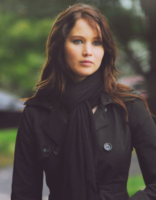 Jennifer Lawrence in Silver Linings Playbook, also starring Bradley Cooper.