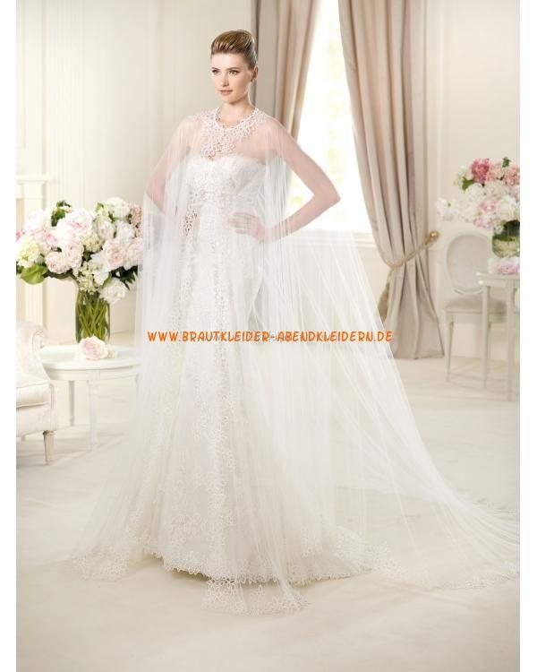 2013 Extravagante sexy Brautkleider im Meerjungfrauenstil mit Bolero online kaufen
