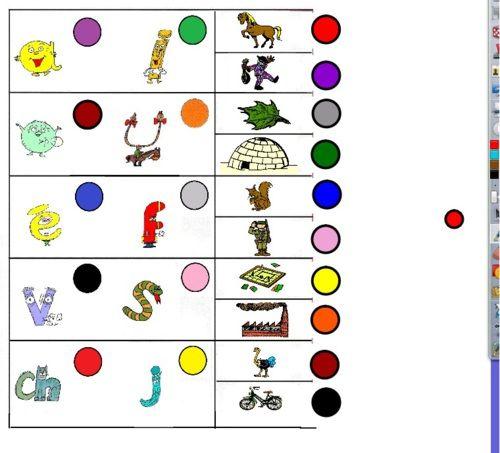 alphas logico associer dessin qui commence par...