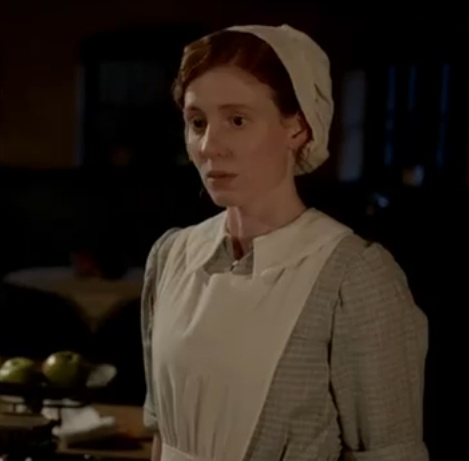 shes back as a maid!!! Downton Abbey's Amy Nuttall: I was shocked Ethel returned as a prostitute  Downton Abbey star Amy Nuttall has admitted how stunned she was when she found out her character was making a return to the TV drama - after being told she wouldn't be coming back at the end of the second series.