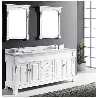 72 white bathroom vanity double sink. Best Deal  Virtu USA Transitional 72 Double Sink Bathroom Vanity Set White GD 314 best Vanities images on Pinterest Dressing